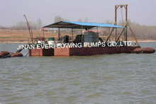 China good quality low price gold cutter suction dredger