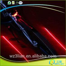Hot !! 2014 bright power laser beam custom fashion led cree bike light