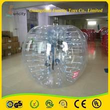 Transparent & Red & Blue Hamster Bumper Bubble Ball, Soccer Suit