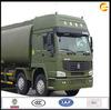 2014 hot sale 25000L HOWO 8*4 oil tanker transport truck for sale in dubai