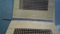 ptfe fiberglass mesh conveyor belt for dryer with bull nose joint