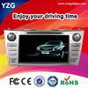 high quality 8 inch Toyota camry auto radio gps car dvd