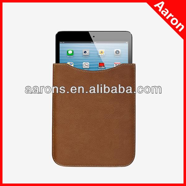 Pouch leather sleeve for iPad Mini /mini 2