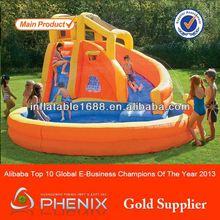 Hot saler indoor or outdoor children funny commercial grade PVC tarpaulin lead free inflatable toboggan slide
