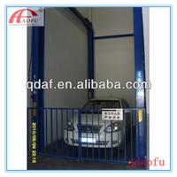 good quality high rise heavy duty four post car elevator /lift/hoist