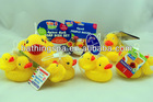 2014 hot selling custom yellow plastic ducks