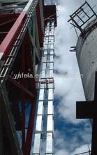 cuerda de acero de la correa del cubo del elevador