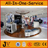 Clothing display kiosk for clothing commercial furniture in Guangzhou
