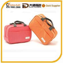 Oxford travel make up cooler bag/modella travelling cosmetic bag