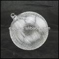 de vidrio transparente bola de navidad decoración