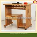 Super projetado do computador de bambu para estudo