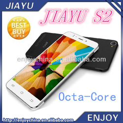 2014 New Arrival JIAYU S2 Dual Sim Android 5Inch 1920*1080Ultra-Thin 6mm MTK6592 Octa-Core 1.7Ghz Cheap Mobile Phones In China
