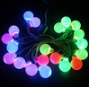 Multicolour led bulb ball string light LED Christmas lights for crafts