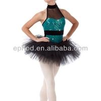 High quality sequin ballet tutu costumes/performance dress/ballet tutus for girls multicolor EPA-010