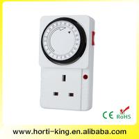 24 Hours 120V Socket Electrical Outlet Timer control water valve with timer