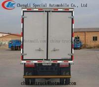 5000kg van cargo truck,cargo dry van truck /dry cargo van box