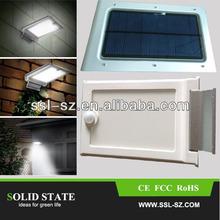 Energy Saving Pir Infrared 2.5W waterproof portable solar led light