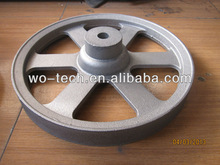 OEM Sand casting engine pulley removal