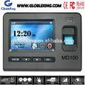 4.3 pantalla táctil independiente biométrico de asistencia de los empleados de la máquina/tiempo biométrico de asistencia de la máquina con la tarjeta rfid