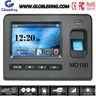 4.3 Touch Screen Standalone biometric employee attendance machine /biometric time attendance machine with RFID card