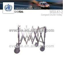 Manual cart,4 position church trolley