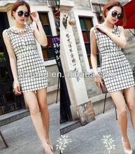 New Fashion Brand OEM Sex Ladies Printed Fashion dresses Manufacturer China