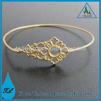 Gold Victorian Brass Bracelet