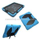 Robot cases Hard case+Silicon case For ipad