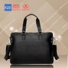 2015 new design genuine leather men bag made in manufacturer