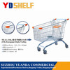 YD-B 80 Liter Europe Type Supermarket Trolley/Cart Accessories Trolley Shopping