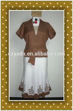2015 Summer New Style Elegant Office Ladies Designer Skirt Suits