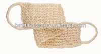 Hot selling knitted sisal strap backs