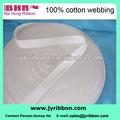 fita de algodão sarja textura webbing para a etiqueta