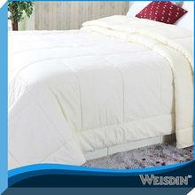 Hot sale plain white indian quilt covers lace duvet covers