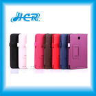 for Asus me173x leather case, new pu cover stand case for Asus memo pad hd 7 me173x double folded design