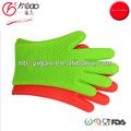 De silicona caliente almohadillas guantes, de silicona puntas de los dedos guantes, de silicona para hornear guantes