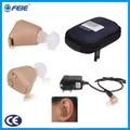 Rechargeables mini invisible. sound amplificateur analogique micro. aide auditive médical, Écouteurs avec batterie de marque de la chine prix bon marché