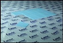 4W/m.K Thermal conductive fiberglass silicone gap filler sheet