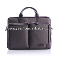 new vintage design briefcase bag business men nylon briefcase