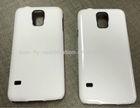 3d blank film sublimation cases, 3d sublimation phone case, 3d film sublimation covers for SAMSUNG S5