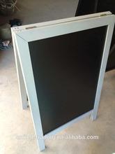aluminum black stand chalkboard