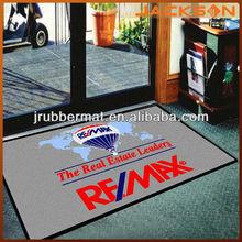 anti slip printed logo brand mat