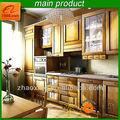 América Classic mobiliario de cocina con 100% sólido de madera