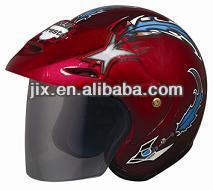 half face helmet/DOT approved helmets/ half face helmet JX-B202