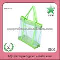 Pvc transparente saco de praia bolsa de verão