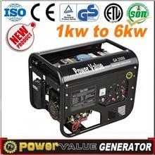 Generator 2.5KW Gasoline/Petrol EngineGenerator Air cooled OHV 4 stroke 12v dc ZH3500