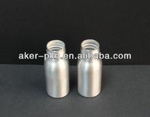 Custom high qutlity capsule pill container with metal aluminum bottle material