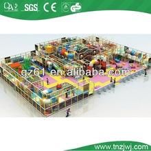 funny children facilities steel indoor playground inflatable castle equipment