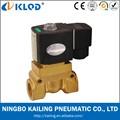 2 vías de agua de la válvula kl523 1/2 pulgadas de alta presión y temperatura