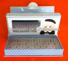 top sale cute top grade paper pencil case with mirror